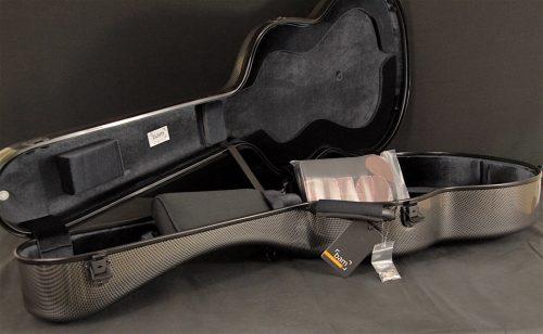 bam hightech classical guitar case silver carbon look guitarmind. Black Bedroom Furniture Sets. Home Design Ideas